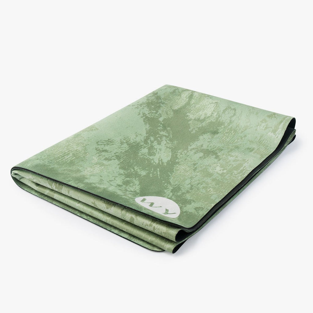 Emerald Green | Rubber Backed Yoga Mat Towel