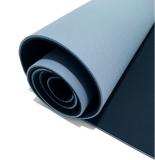 Reversible Grey + Blue | 6mm Thick Foam Yoga Mat