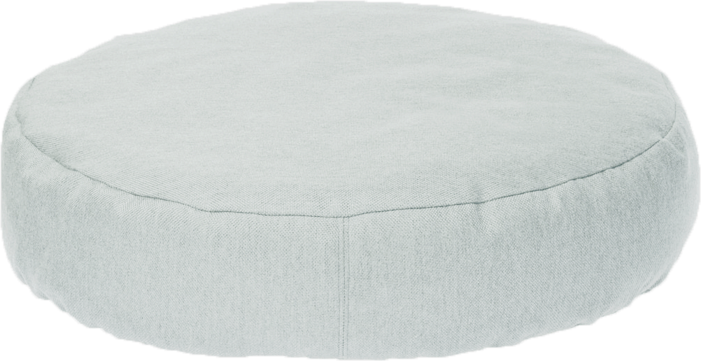 Linen + Cotton Maxi Roundie | Meditation Cushion