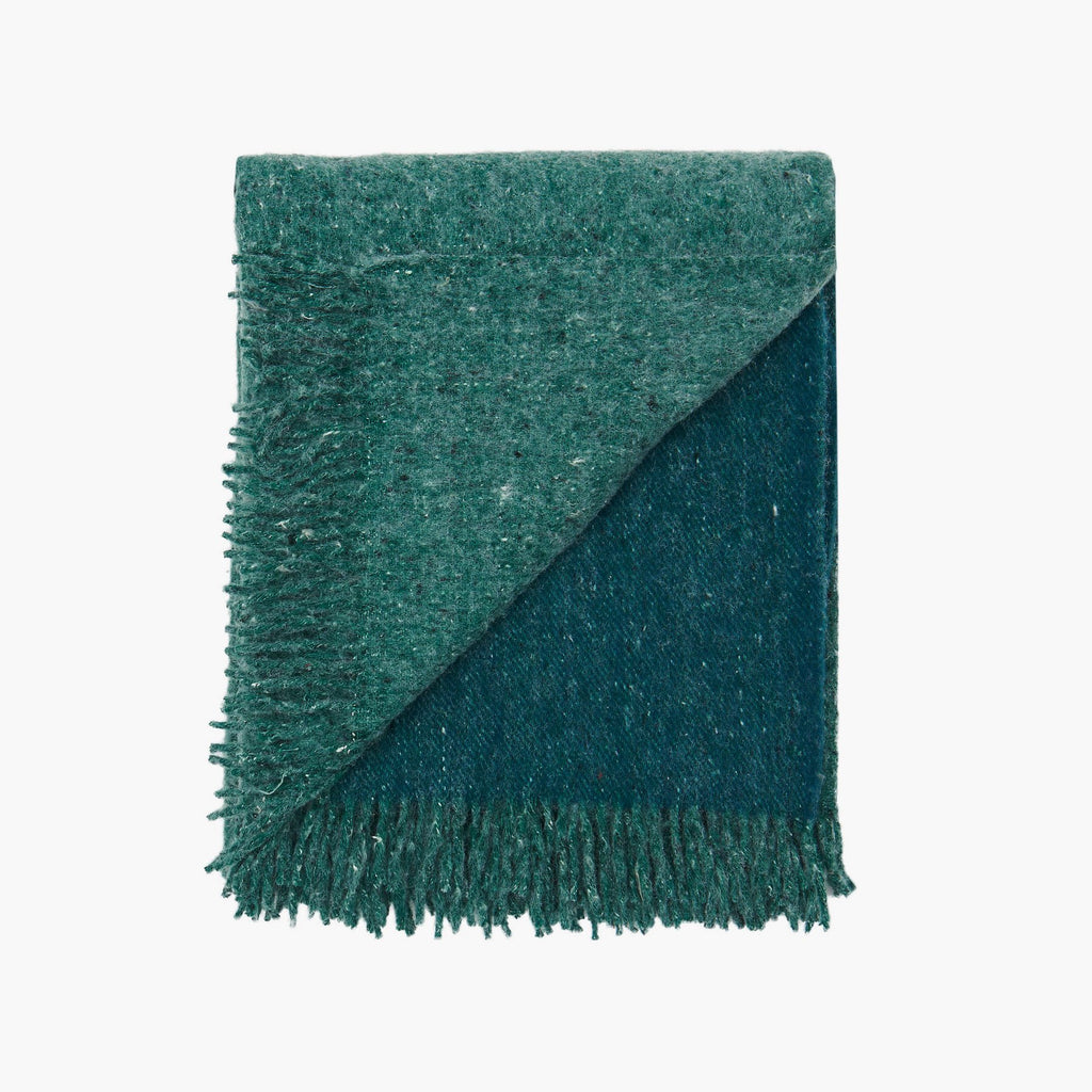 Forest Green | Recycled Wool Australian Made Blanket