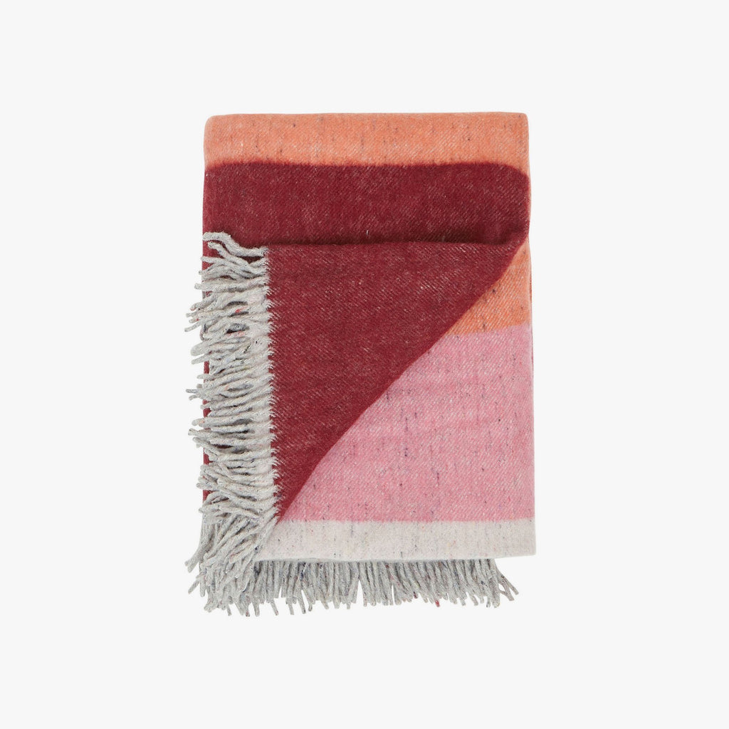 Sienna Sunset | Recycled Wool Australian Made Blanket