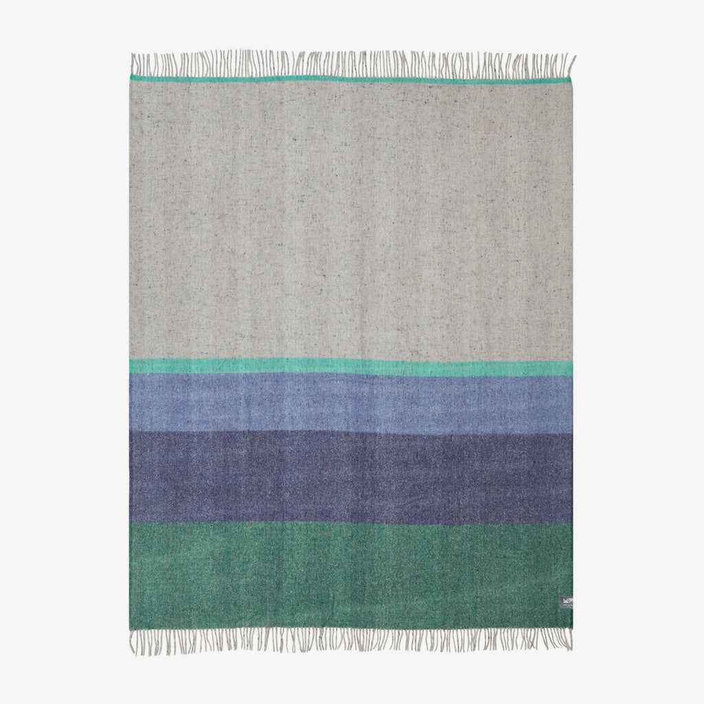 Teal Twilight | Recycled Wool Australian Made Blanket