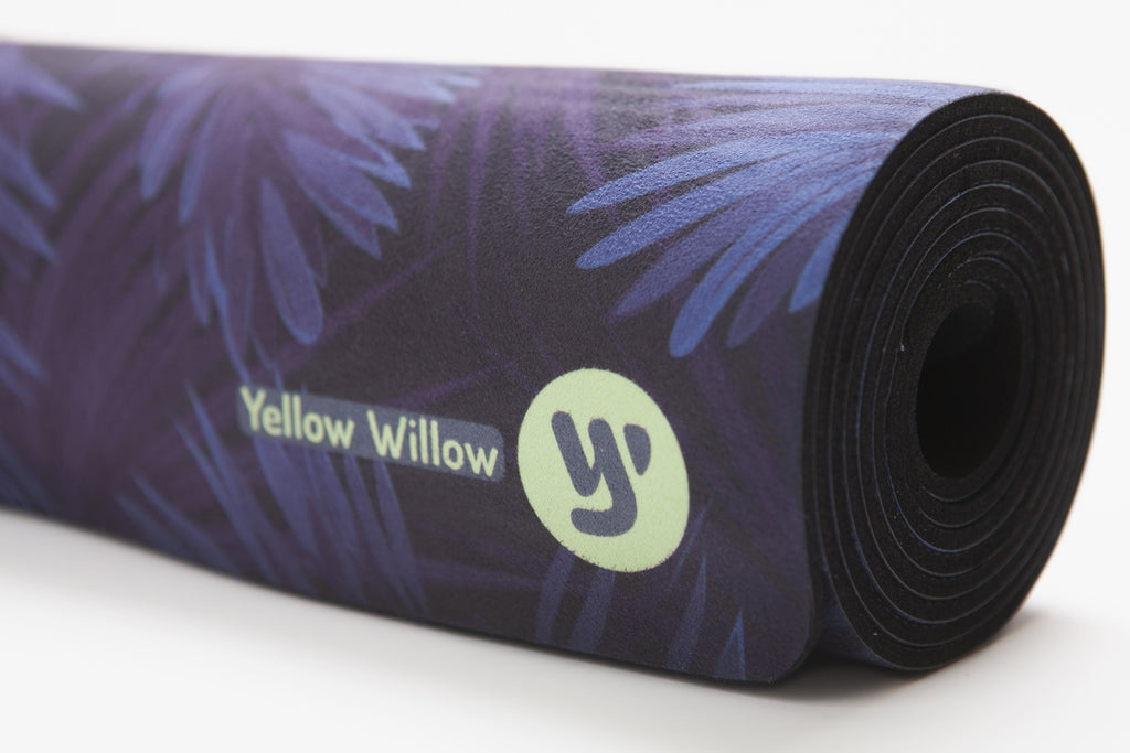 Midnight Palm | Extra Long Yoga Mat