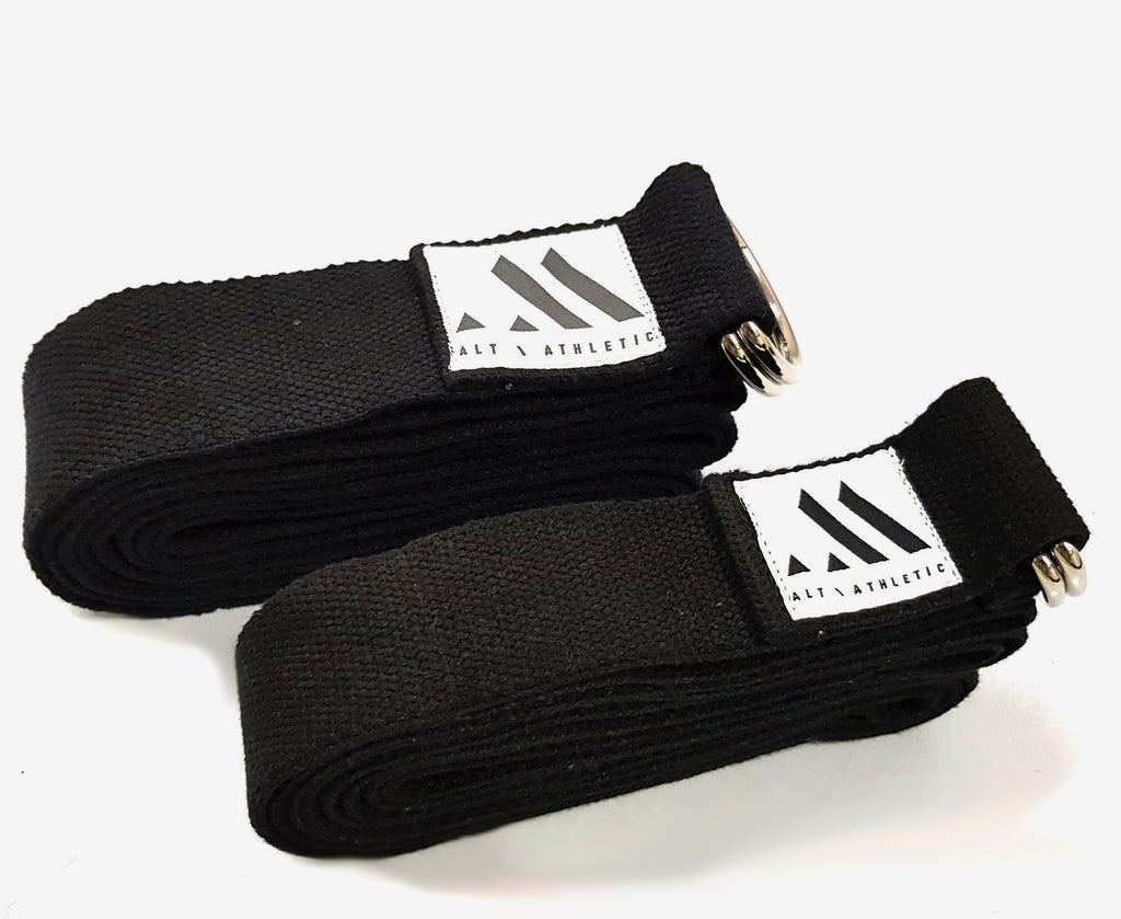 Black Cotton | D-Ring Stretching Strap (240cm)