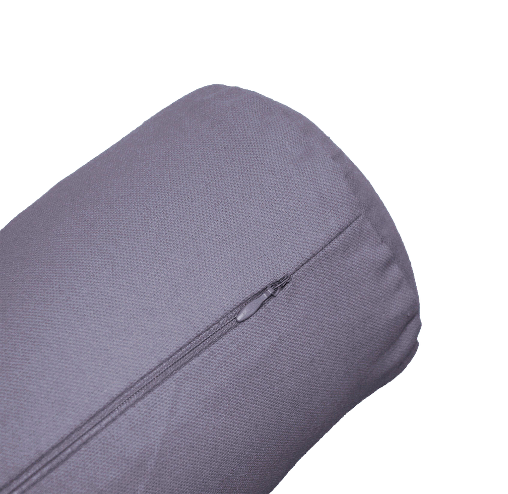 Charcoal Grey | Cylinder Yoga Bolster