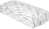 Feathers | Rectangle Brushed Cotton Yoga Bolster