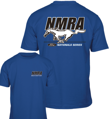 NMRA Royal Blue Logo Shirt
