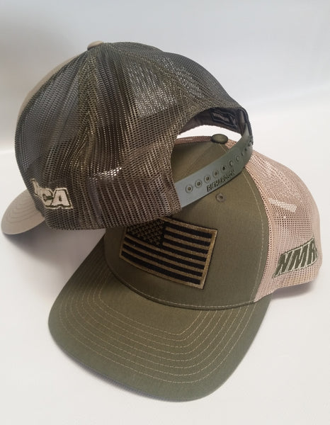 US Flag Snap Back Hat, NMRA & NMCA