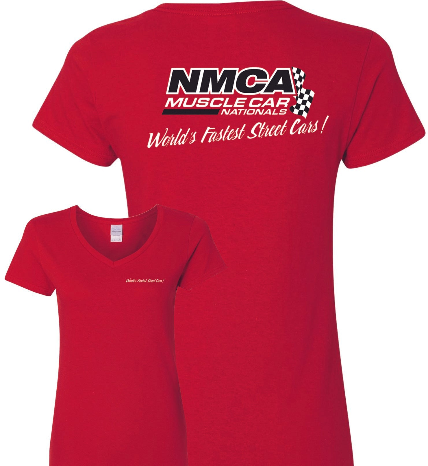 NMCA Red Logo Womens Tee