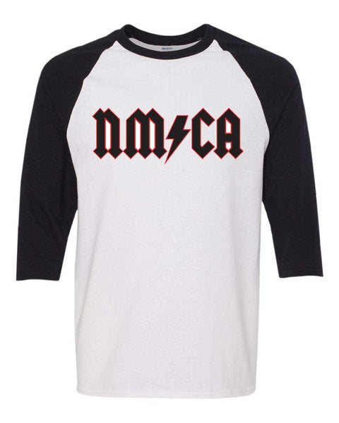 NMCA Rock Logo - Baseball Sleeve