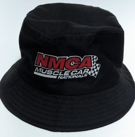 NMCA Black Bucket Hat