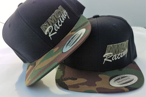 Flat Billed Camo Hat, NMRA & NMCA