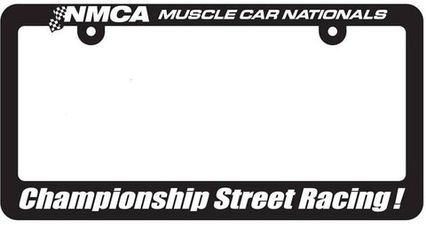 NMCA Championship Street Racing License Plate Frame