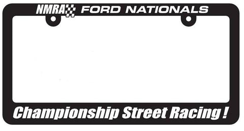 NMRA Championship Street Racing License Plate Frame