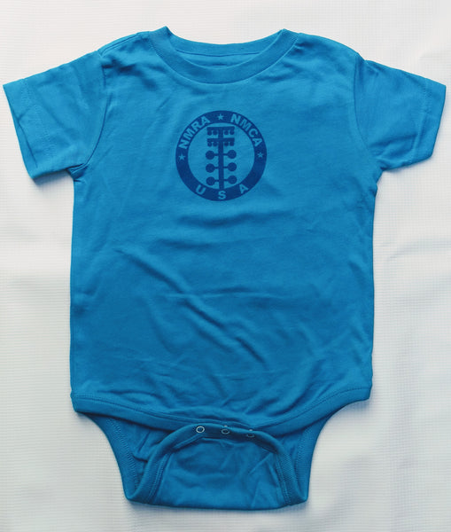 NMRA/NMCA Toddler Onesie, Light Blue
