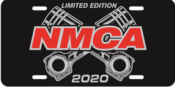 2020 Limited Edition NMCA Muscle Car Nationals License Plate