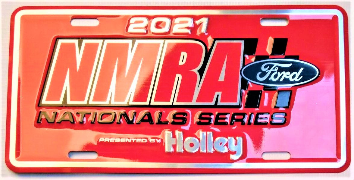 2021 Limited Edition NMRA Ford National Series License Plate