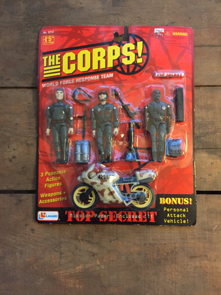 The Corps World Force Response Team Action Figures
