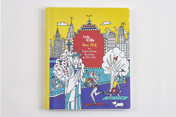 Leap & Hop New York Activity Book for Kids Cover