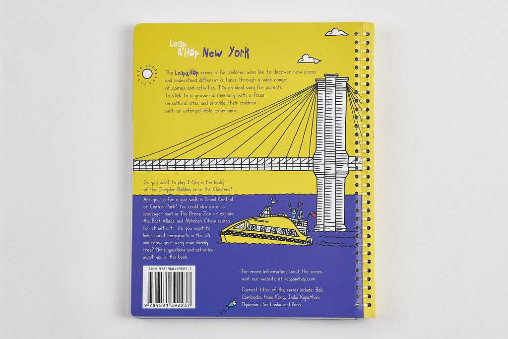 Leap & Hop New York Back Cover