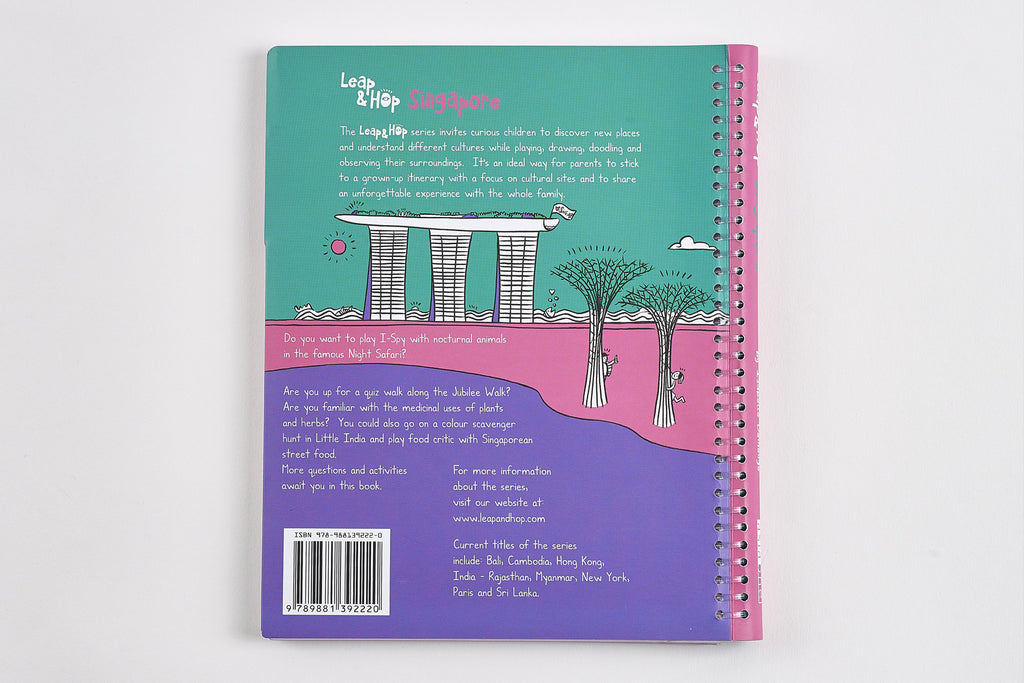 Leap & Hop Singapore Back Cover