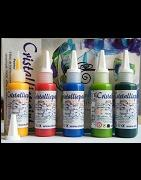 Kit de 5 peintures - Cristallic Paint