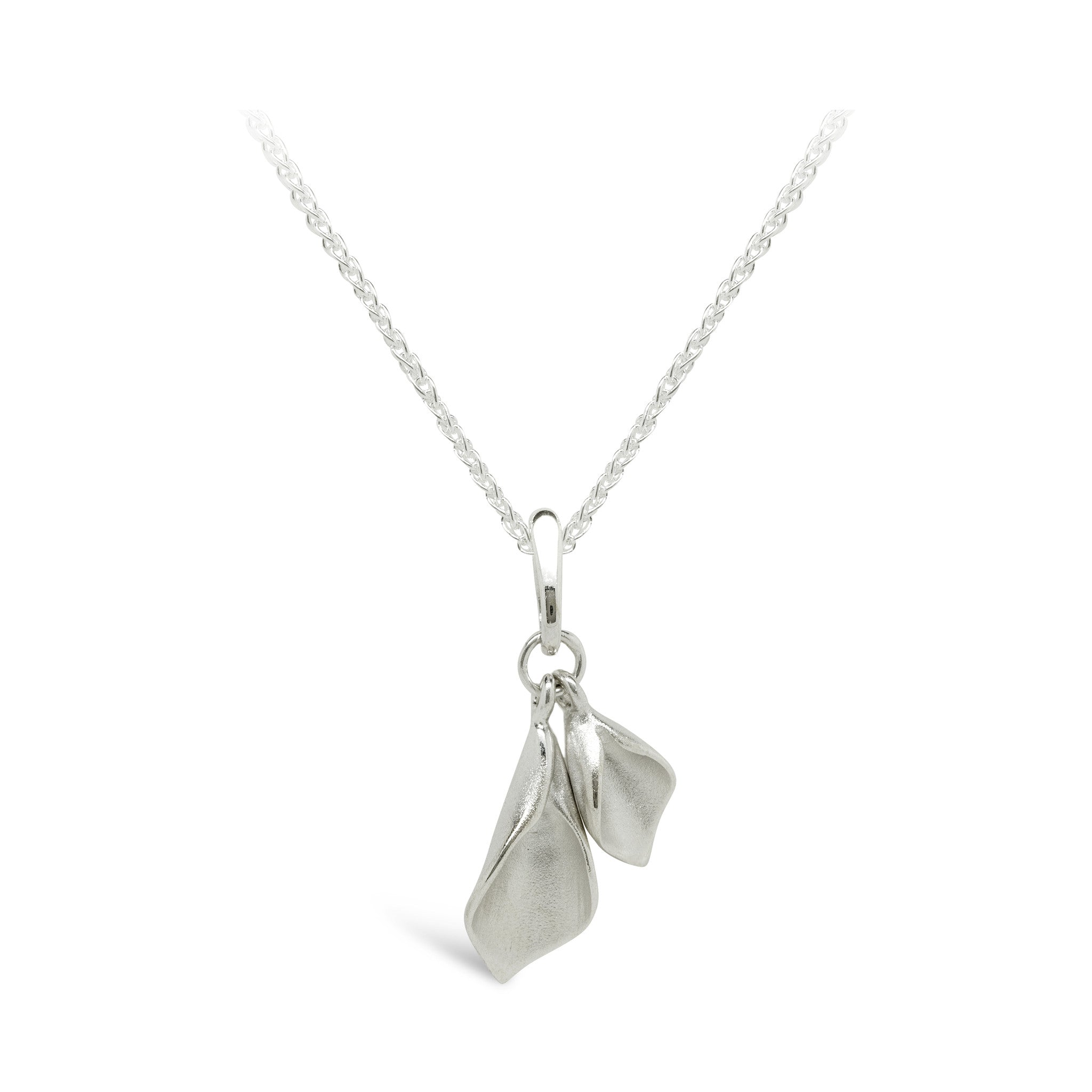 24281d31a W2SP Lilium Small Double Calla Lily Pendant - Collette Waudby