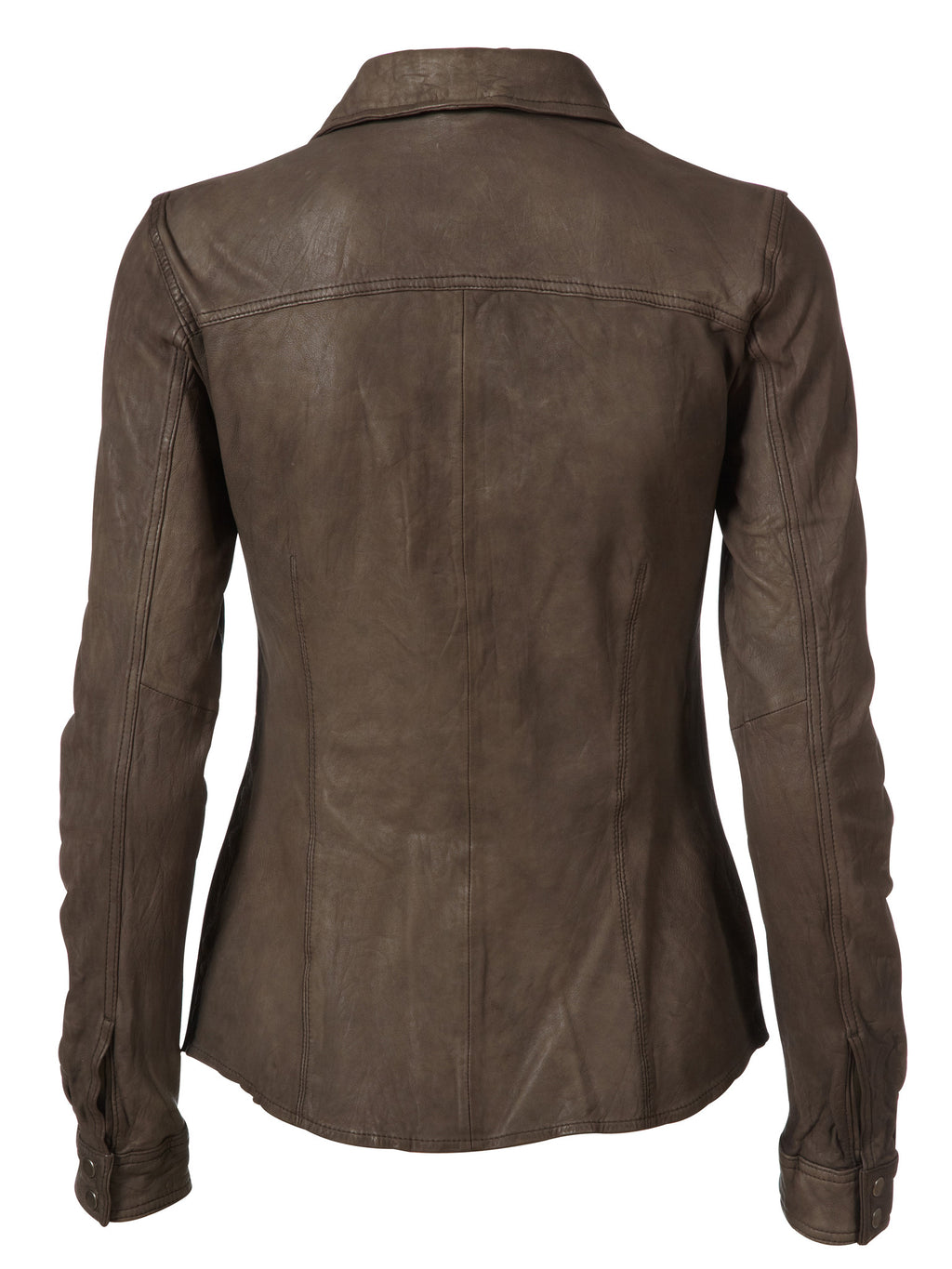 Mathina Leather Shirt