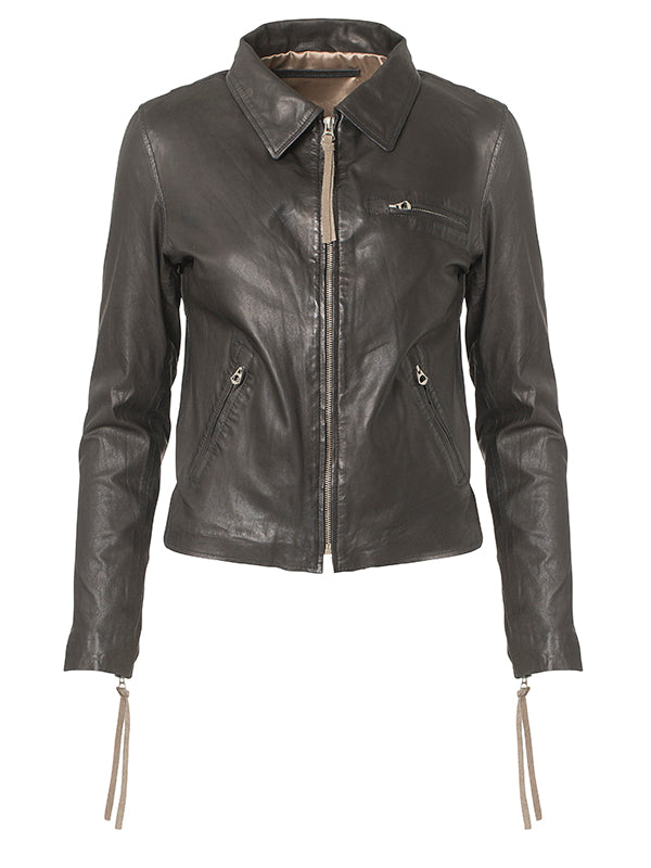 Paris Thin Leather Jacket