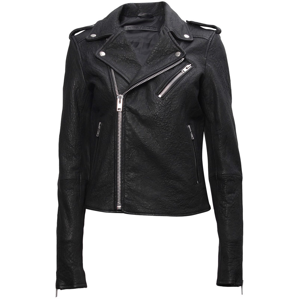 Bubble Biker Jacket - black
