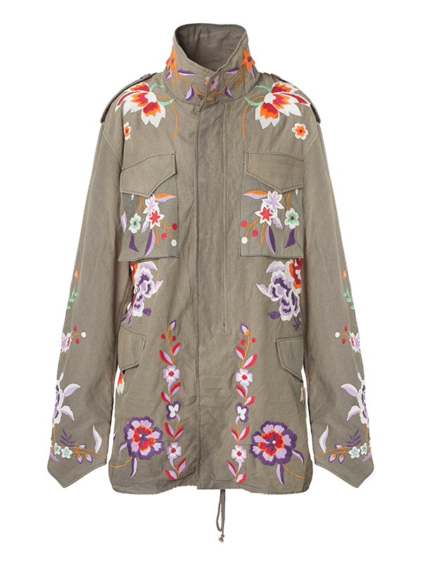 3/4 BUDDHA FLOWER JACKET