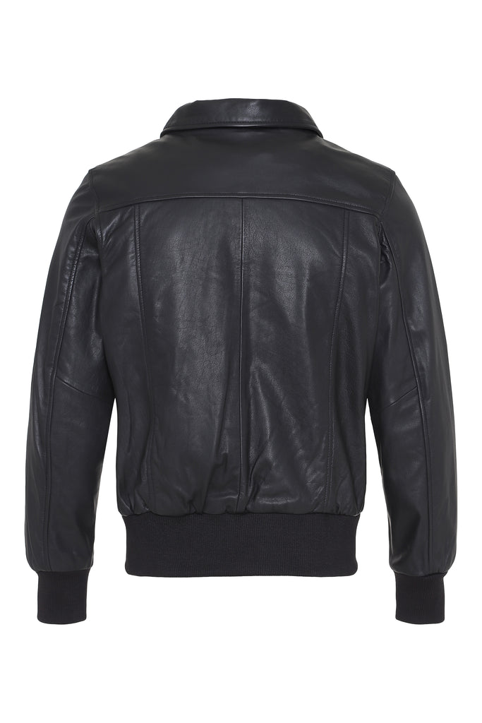 Ernie cow jacket - black