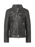 Karla kid leather jacket