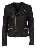 Mathilde leather jacket