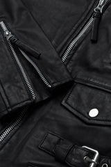 City Biker Leather Jacket