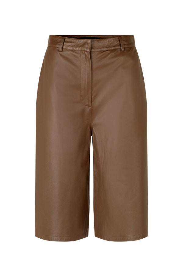 Culotte Thin Leather Trouser