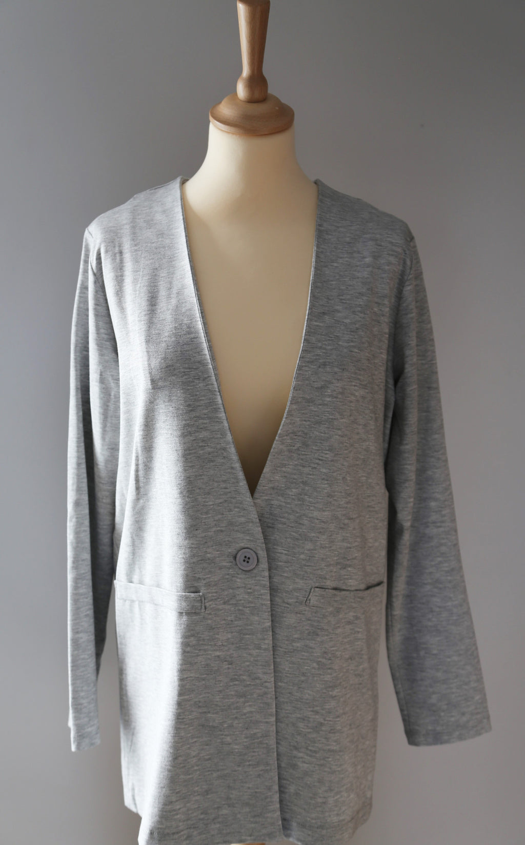 Blazer in t-shirtstof