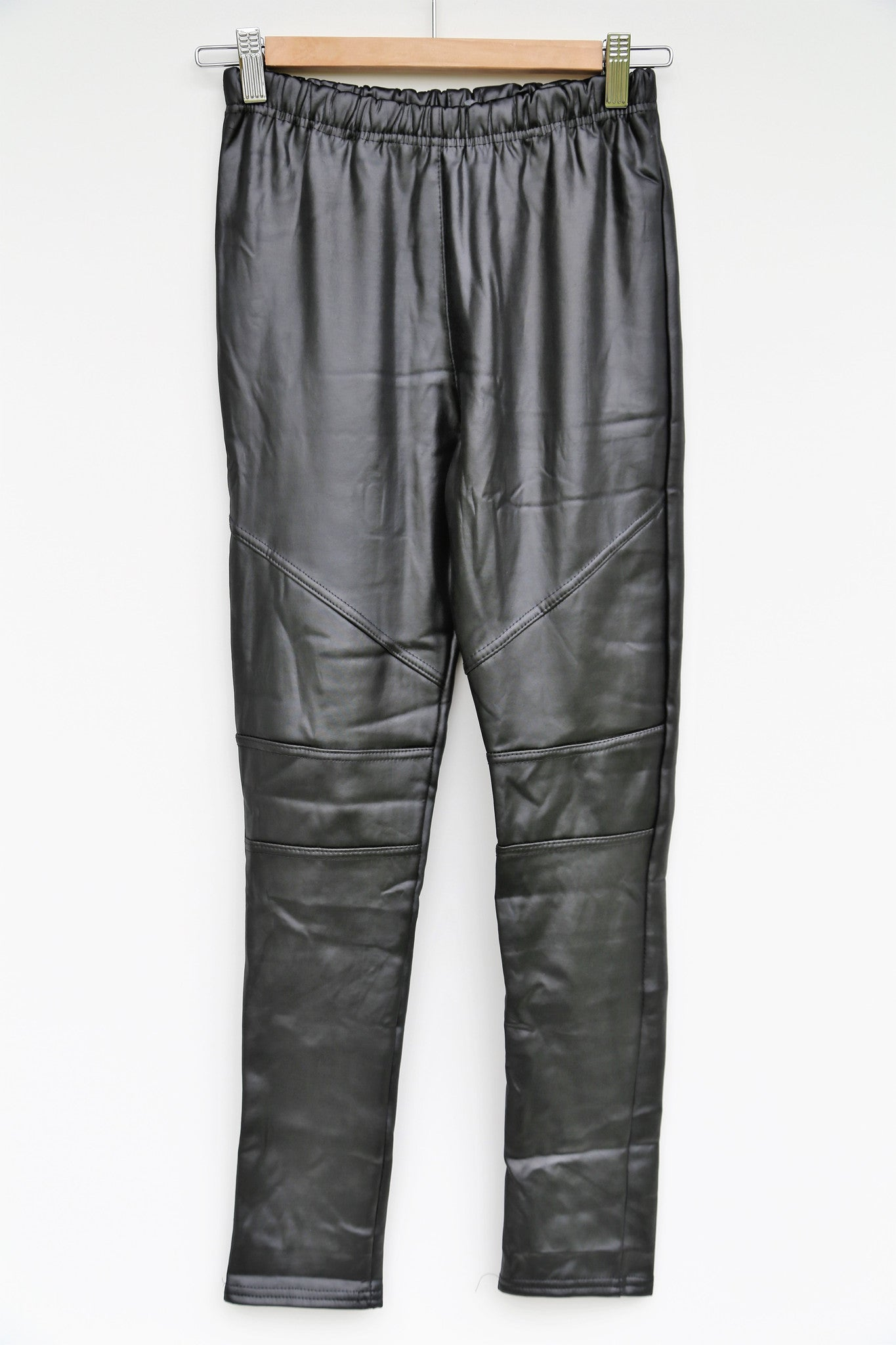 Broek in PU leather