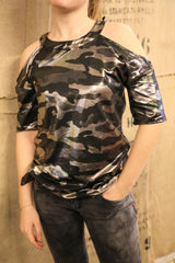 T-Shirt in camouflage
