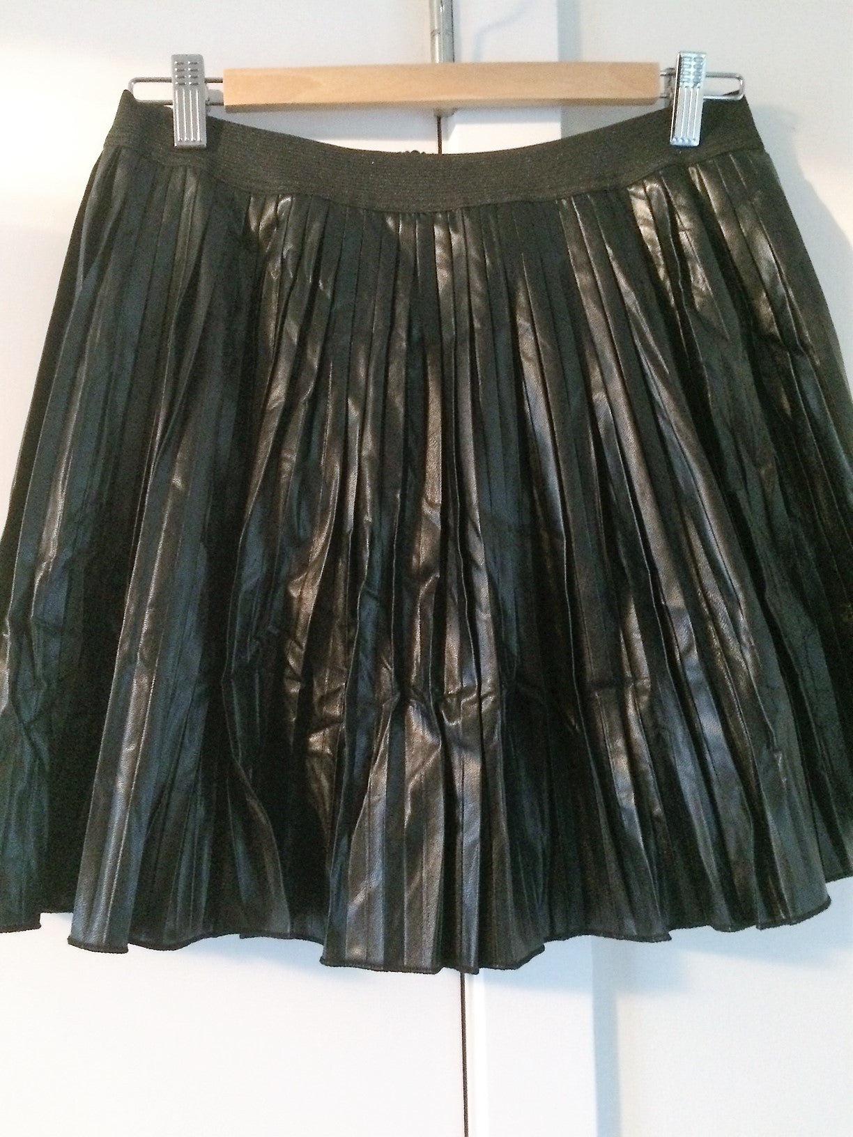 Rok in PU leather