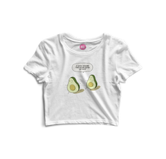 Avocado Crop Top
