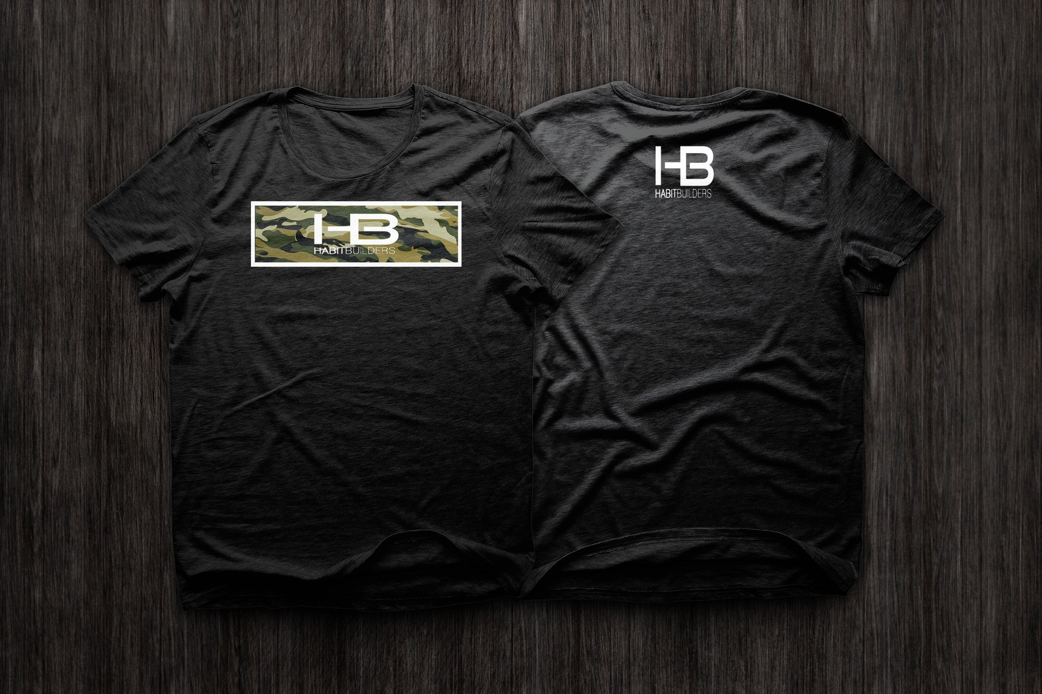BecauseHabits CAMO T-Shirt