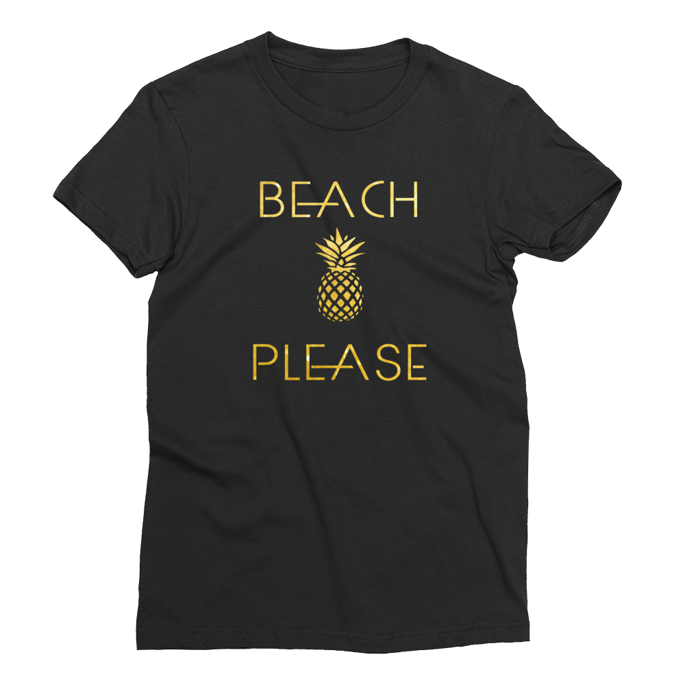 Beach Please Girls T-Shirt