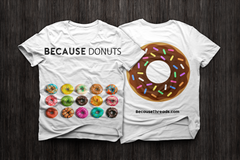 BecauseDonuts T-Shirt
