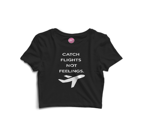 CatchFlights Crop Top