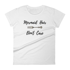 Mermaid Hair Don't Care Girls T-Shirt