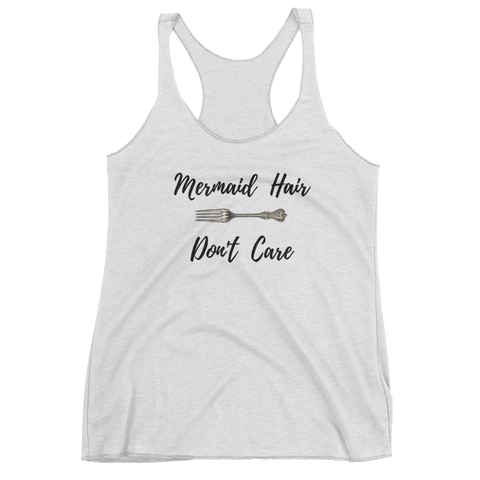 Mermaid Hair Don't Care Girls Tank