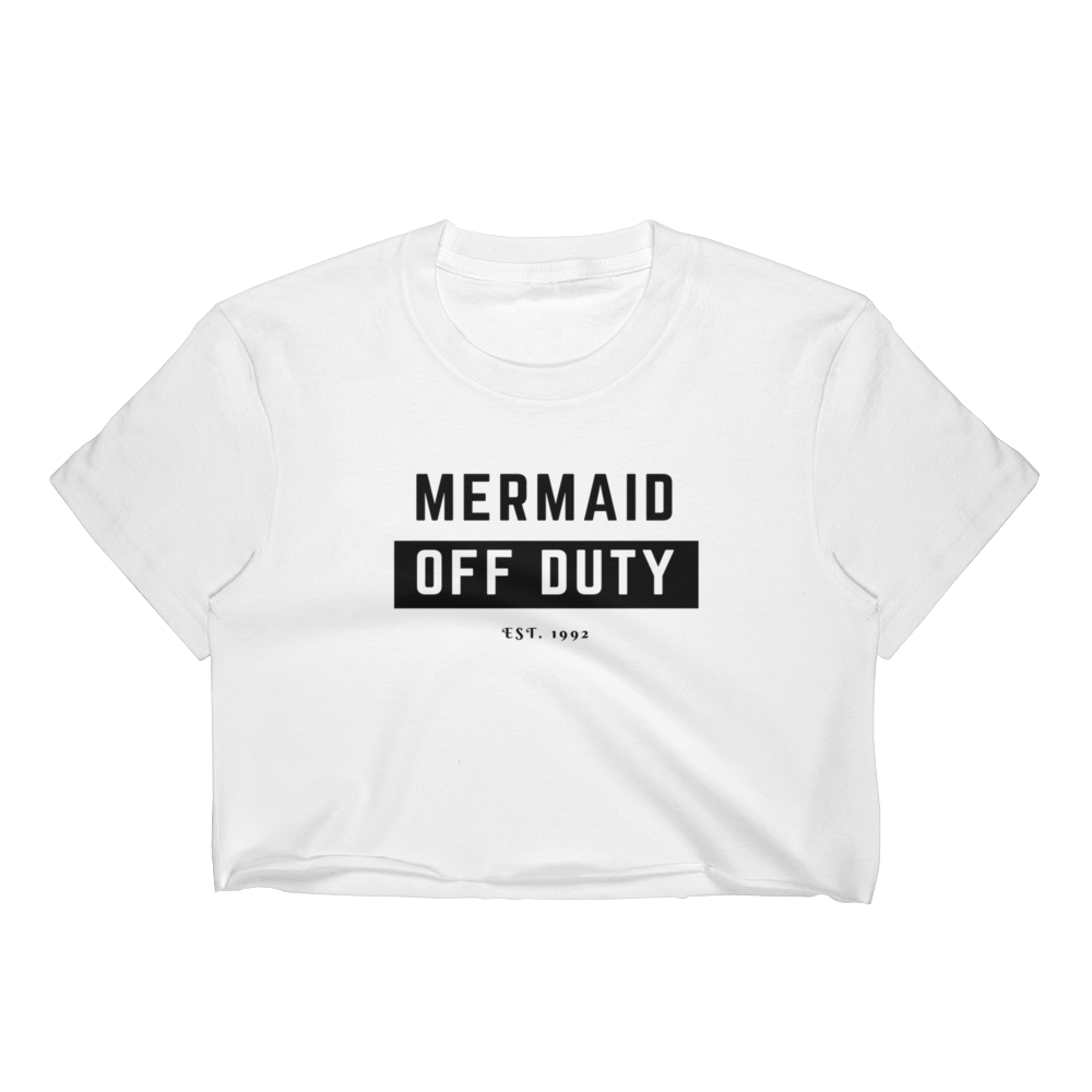 Mermaid Off Duty Crop Top