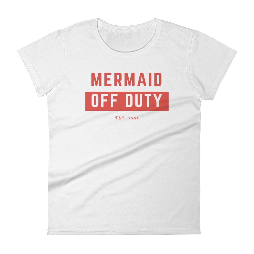 Mermaid Off Duty Girls T-Shirt