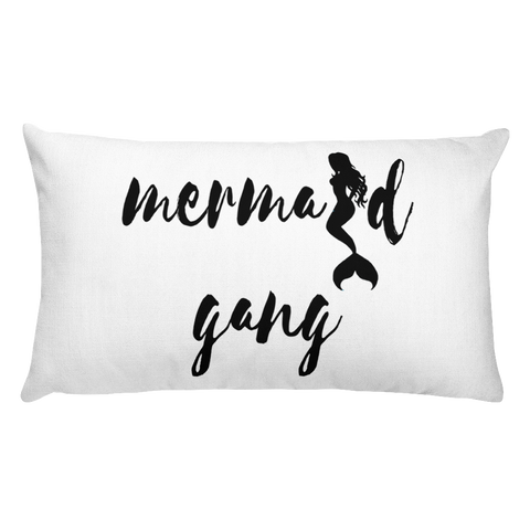 Mermaid Gang Long Pillow